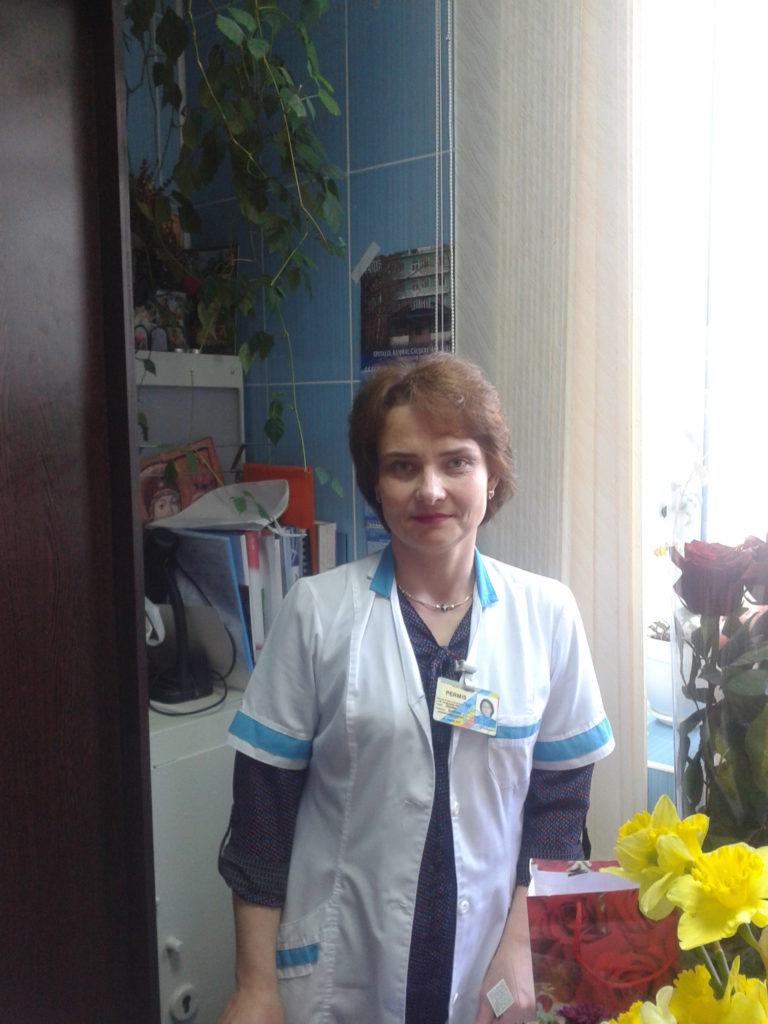 Asistenta medicală majoră Svetlana Glodea