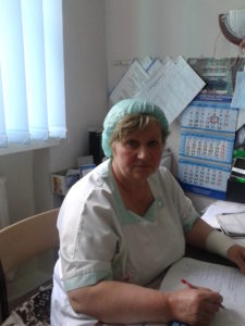 Asistenta medicală majoră Maria Grițcan