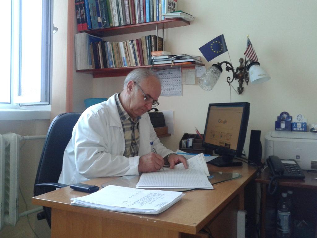 Șeful secției Timofei Bucucci