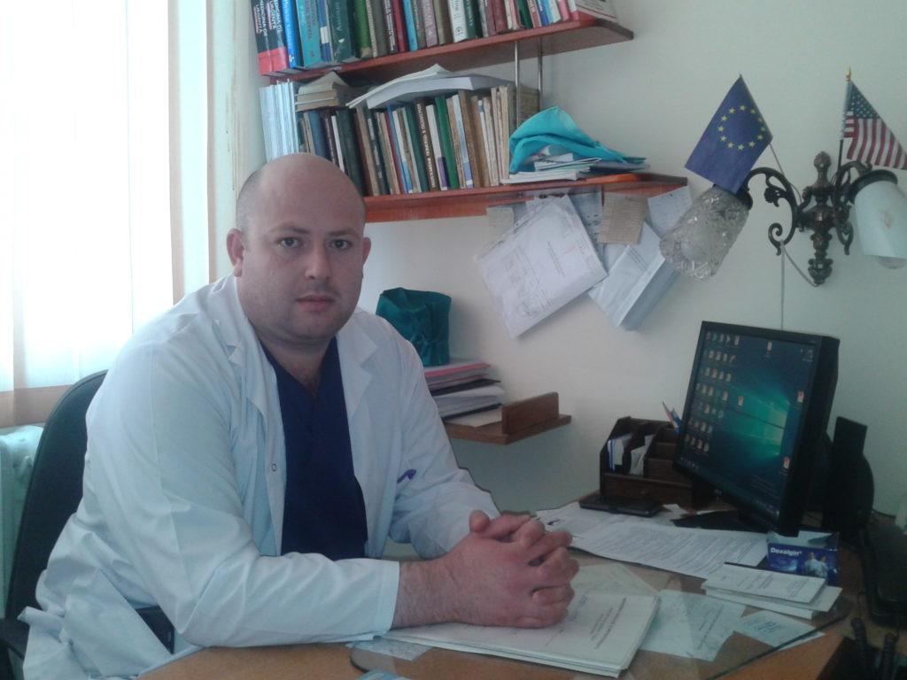 Șeful secției Andrei Cucovici