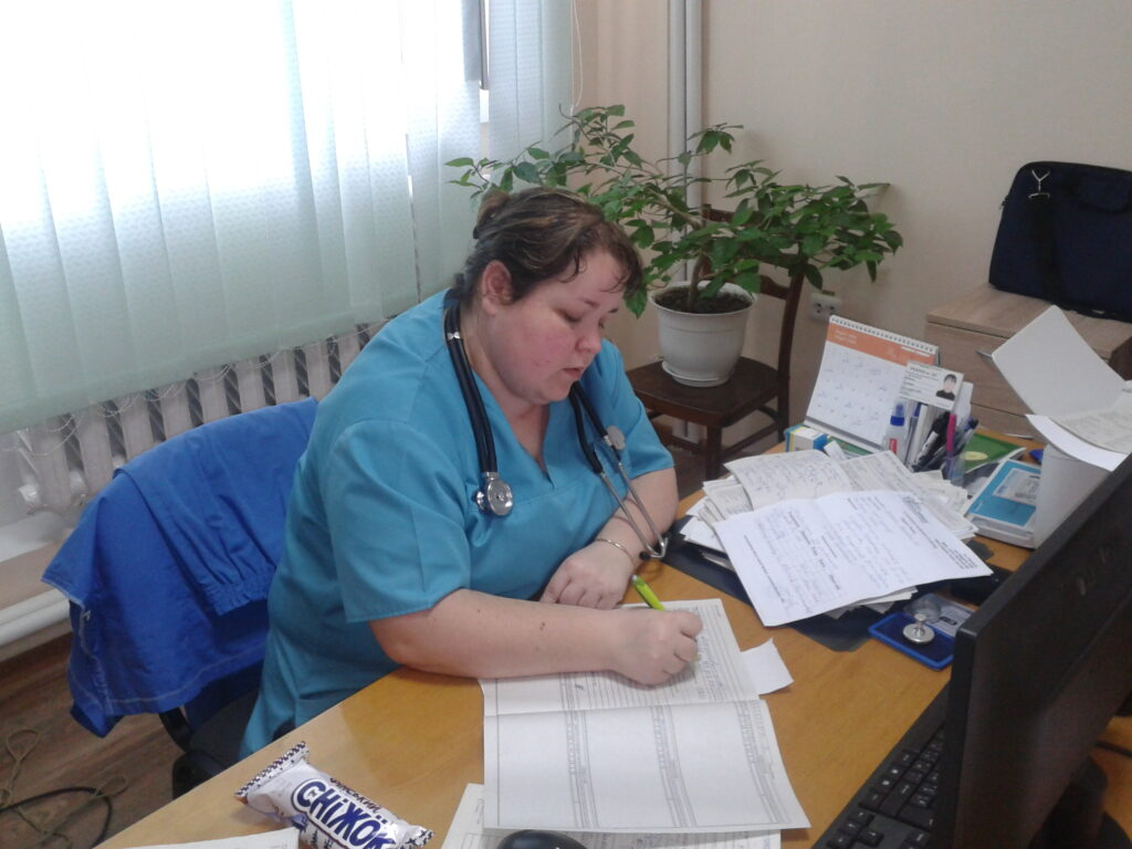 Șefa secției-Svetlana Bobeica